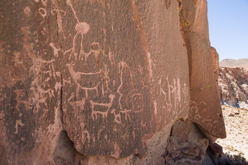 Grabados rupestres del Peón de Curuto